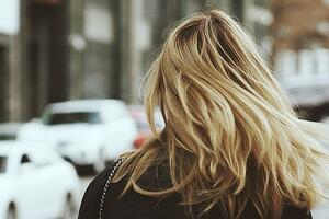 Full head of hair